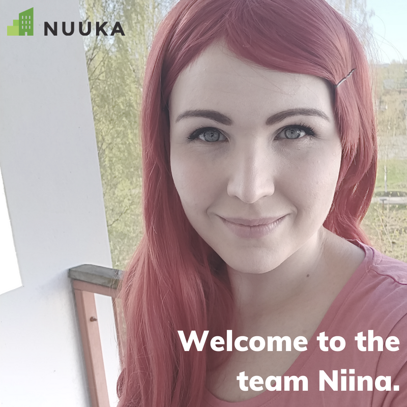 Welcome to the team Niina