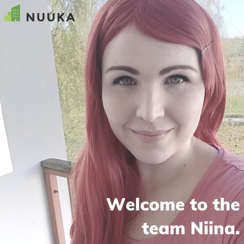 Welcome to the team Niina